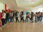 曲靖麒麟中学对学生进行初步筛选
