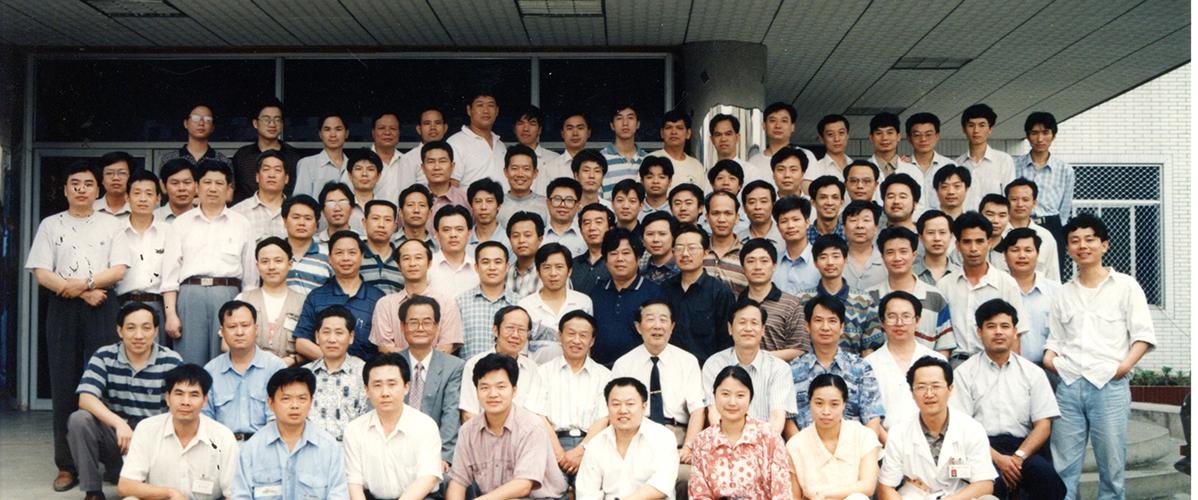 西南五省首届脊柱外科提高班97。